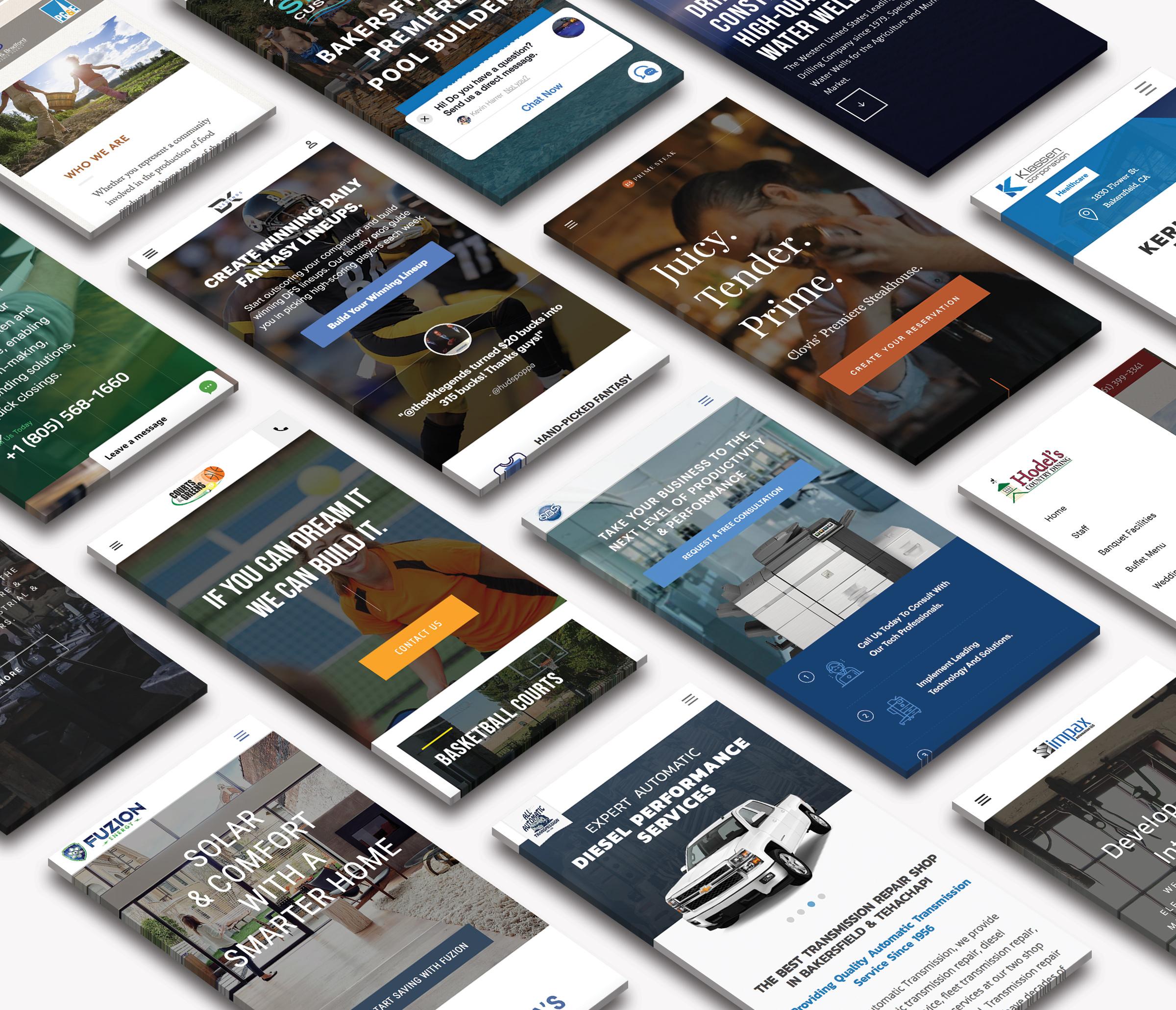 Best Web Site Company Bakersfield - Premier Website Design Company
